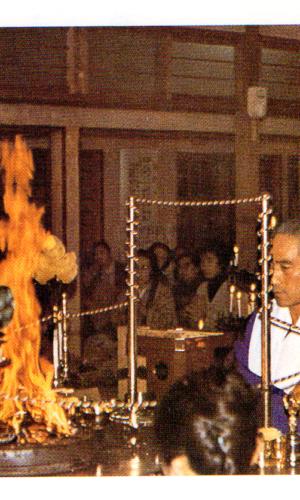密教のトレーニングは五つの異常能力を生む  Esoteric training produces five extraordinary abilities