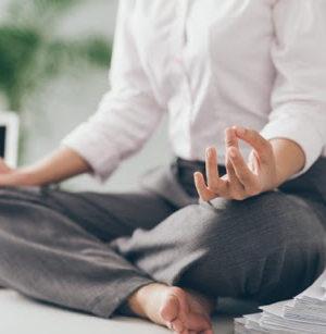 瞑想の準備  Preparing for meditation